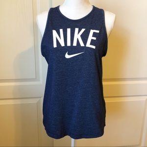 Nike Athletic Cut Dri-Fit Tank Top Size Medium